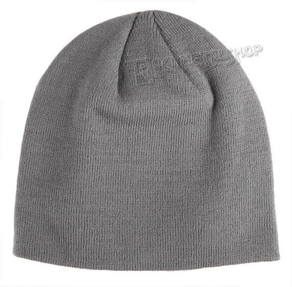 czapka zimowa BATMAN ARKHAM - CLASSIC LOGO szara