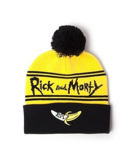 czapka zimowa i szalik RICK AND MORTY - BANANA