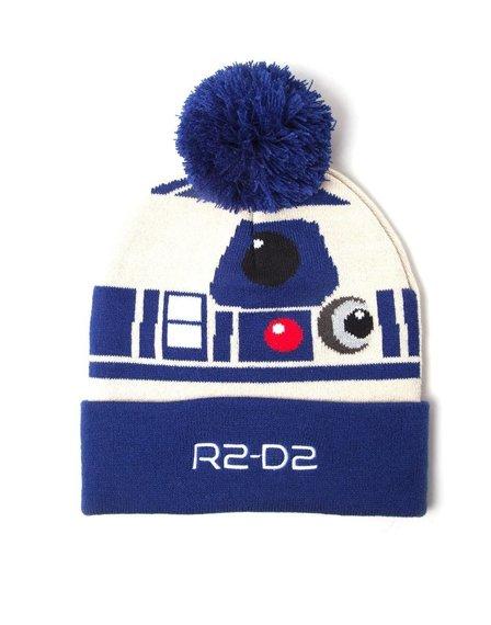 czapka zimowa + szalik STAR WARS - R2-D2