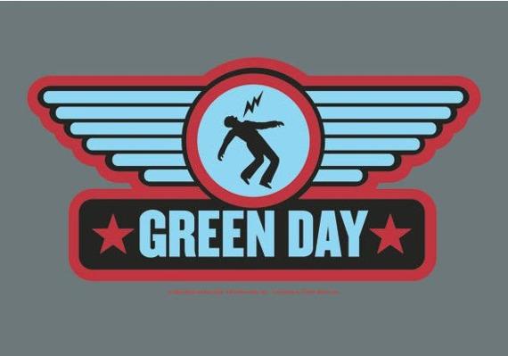 flaga GREEN DAY - WINGS