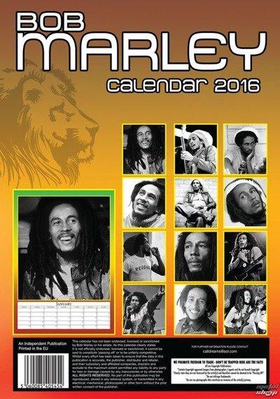 kalendarz BOB MARLEY 2016
