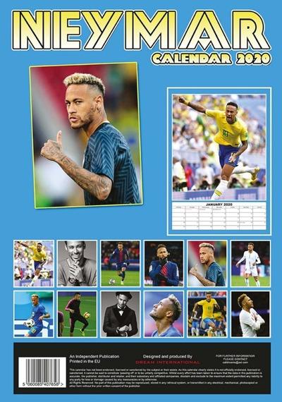 kalendarz NEYMAR 2020