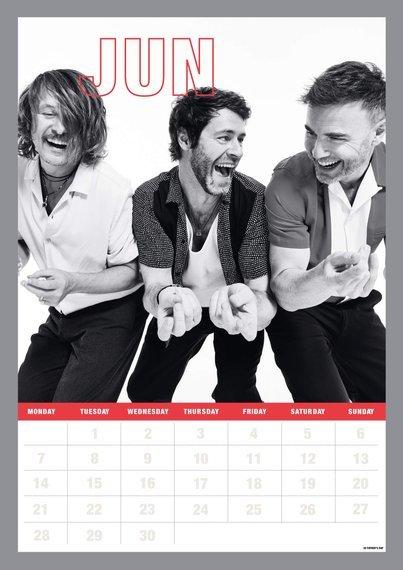 kalendarz TAKE THAT 2021