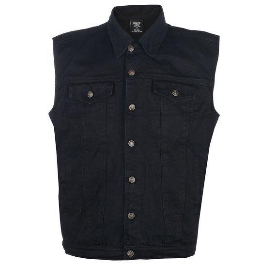 kamizelka UNIK black jeansowa