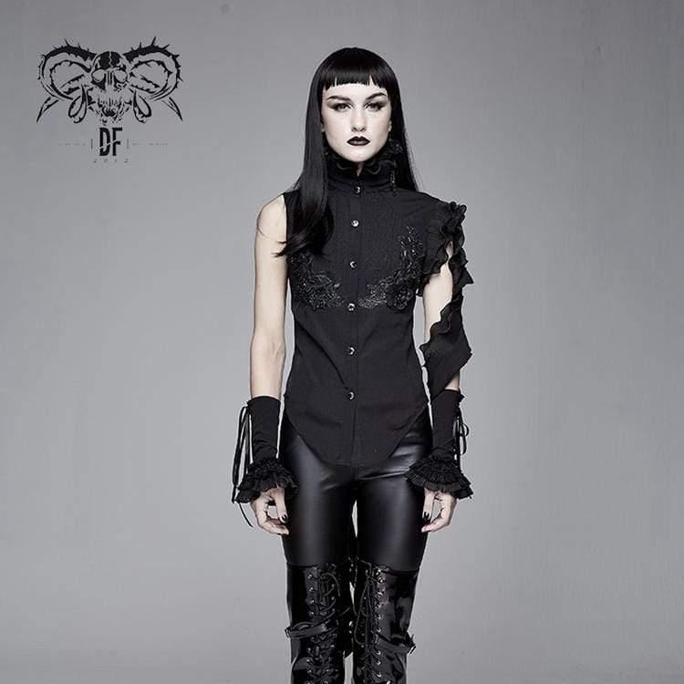 koszula damska PUNK RAVE - GOTH STAND black