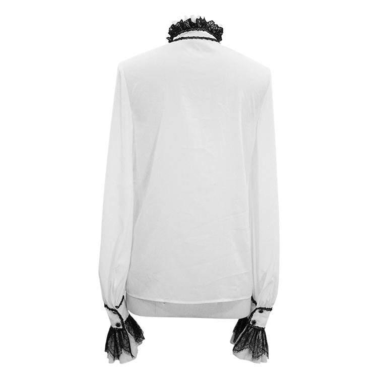 koszula męska PUNK RAVE - PUFF (white)