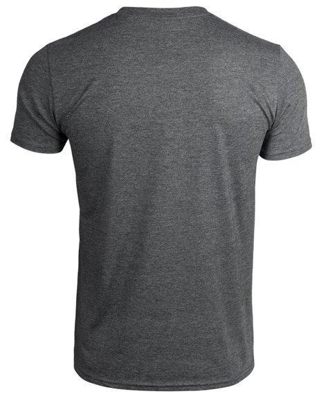 koszulka ALIENS - FREE HUGS szary melanż