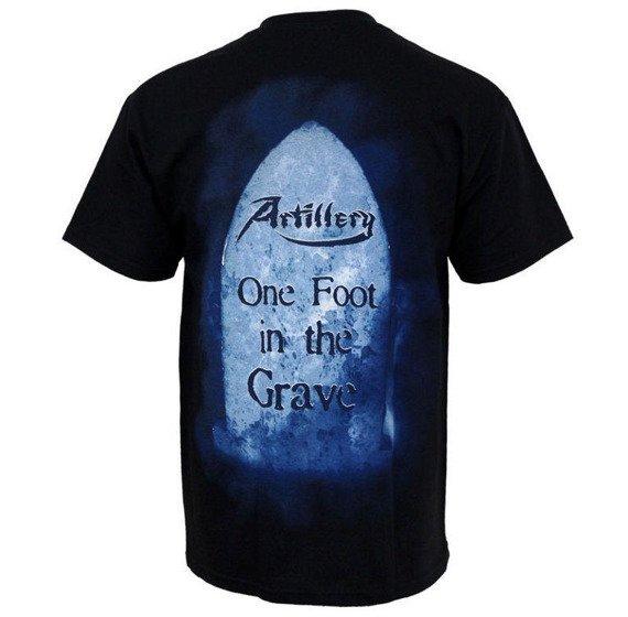 koszulka ARTILLERY - ONE FOOT IN THE GRAVE