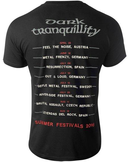 koszulka DARK TRANQUILLITY - FESTIVALS 2016