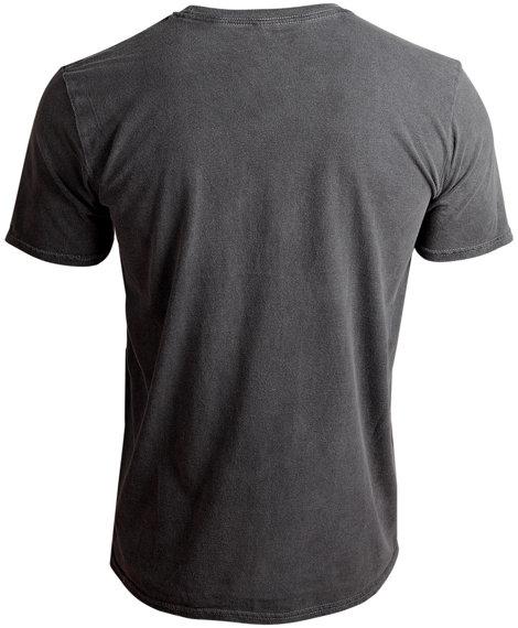 koszulka DEATH - SILVER LOGO szara