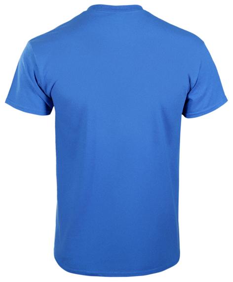 koszulka GILDAN PREMIUM - ROYAL,  bez nadruku