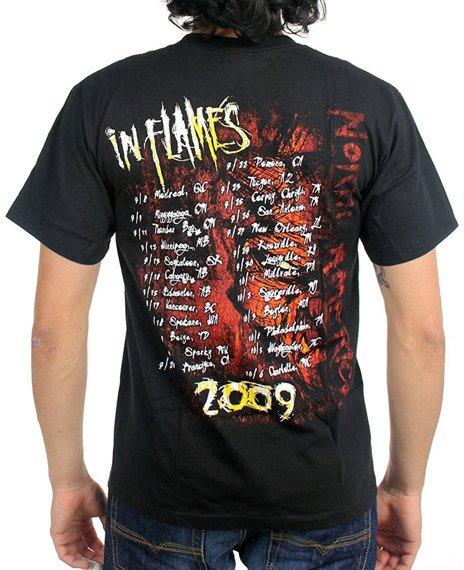 koszulka IN FLAMES - SHIELD 2009 TOUR
