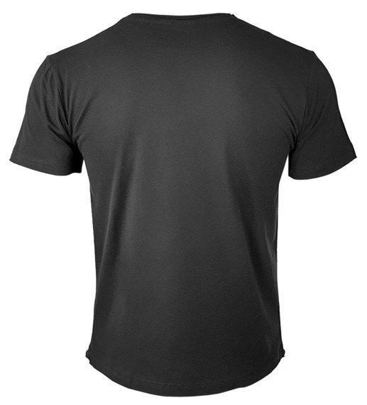koszulka JOHNNY CASH - WALKING LEGEND ciemnoszara