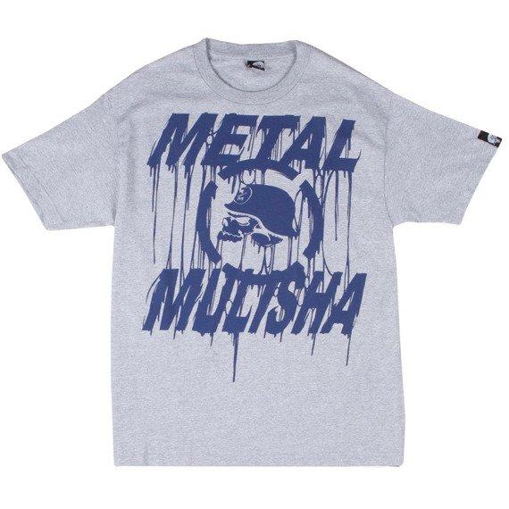 koszulka METAL MULISHA - GOO szary melanż