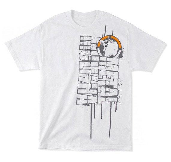 koszulka METAL MULISHA - LARGE biała