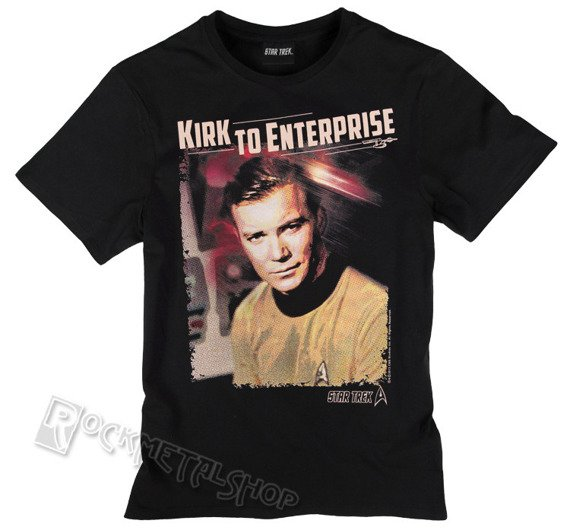 koszulka STAR TREK - CAPTAIN KIRK czarna