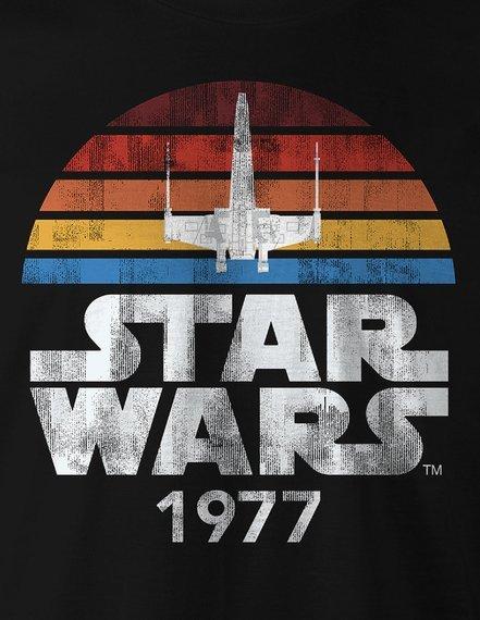koszulka STAR WARS - 1977 czarna