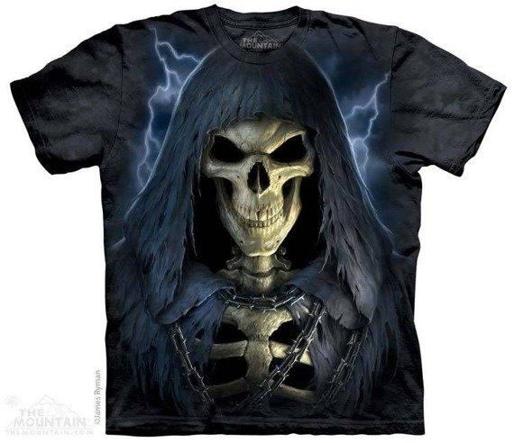 koszulka THE MOUNTAIN - DEATH IN CHAINS, barwiona