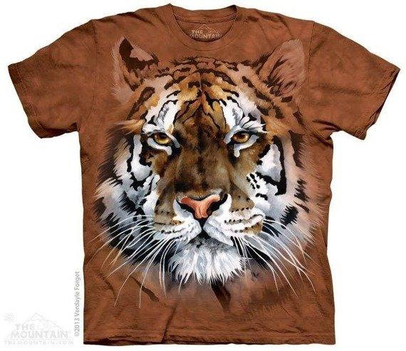 koszulka THE MOUNTAIN - FIERCE TIGER, barwiona