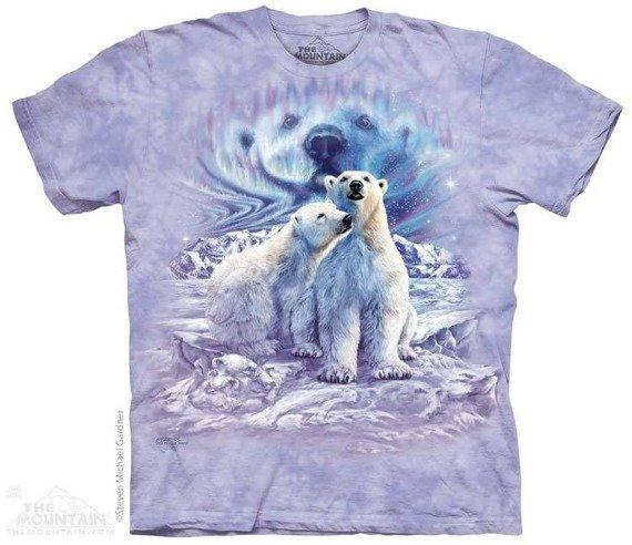 koszulka THE MOUNTAIN - FIND 10 POLAR BEAR PAIRLARGE, barwiona