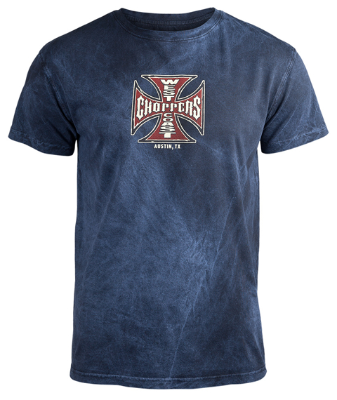 koszulka WEST COAST CHOPPERS - SPARK VINTAGE, barwiona