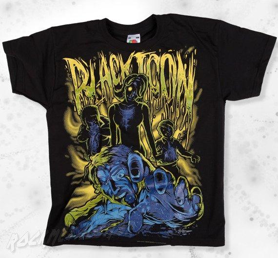 koszulka dziecięca BLACK ICON - FAMILY DINNER czarna (JICON073BLC)