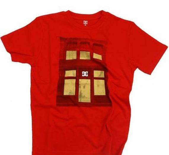 koszulka  męska -DC Sew Hoe (red) czerwona