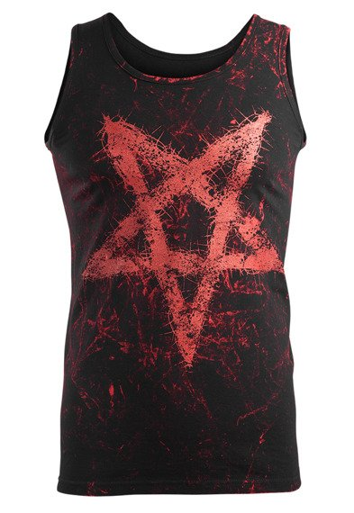 koszulka na ramiączkach AMENOMEN - PENTAGRAM (OMEN096KR ALLPRINT RED)