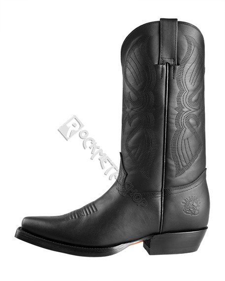 kowbojki GRINDERS - LOUISIANA (4015 BLACK)