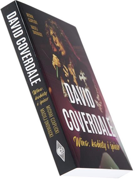 książka DAVID COVERDALE - WINO, KOBIETY I ŚPIEW  - Michał Czaplicki, Maciej Snowacki