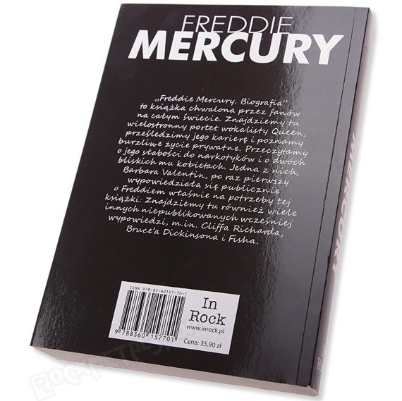 książka FREDDIE MERCURY. BIOGRAFIA, autor Laura Jackson
