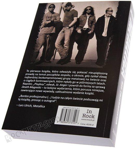 książka METALLICA BEZ PRZEBACZENIA. autor: Joel McIver