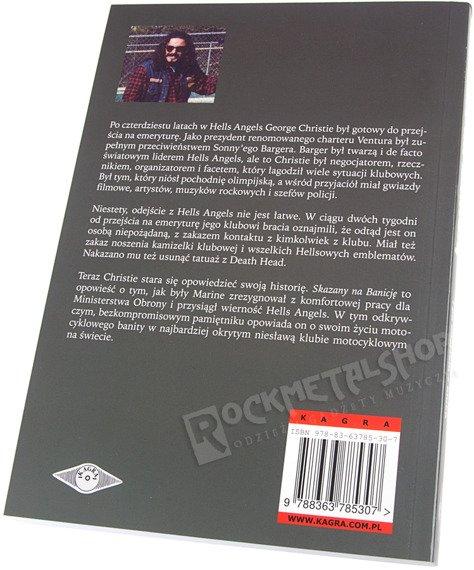 książka SKAZANY NA BANICJĘ - MOJE ŻYCIE Z HELLS ANGELS I PO ODEJŚCIU Z KLUBU