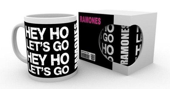 kubek RAMONES - HEY HO