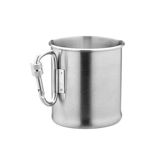 kubek stalowy KARABINERBECHER, 250 ml