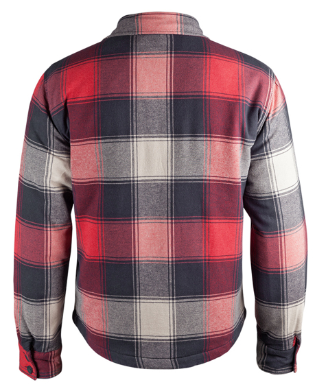 kurtka/koszula LUMBERJACKET red/anthracite/beige