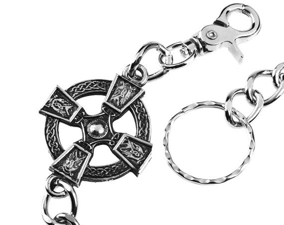 łańcuch do kluczy / portfela CELTIC CROSS