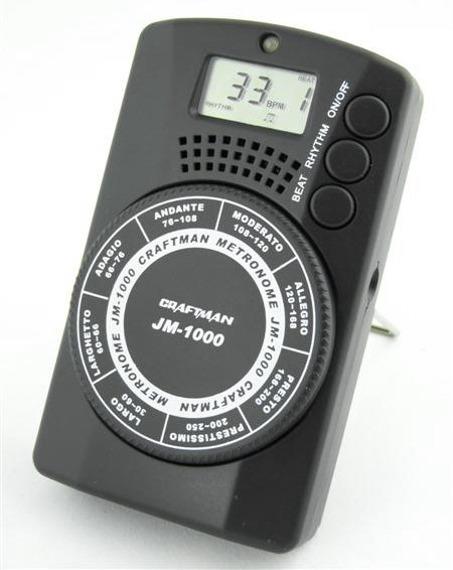 metronom + generator tonów CRAFTMAN JM-1000