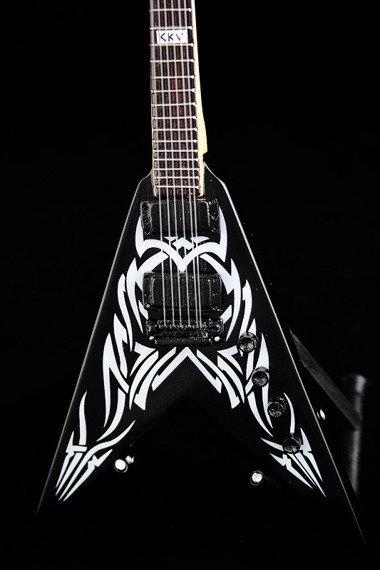 miniaturka gitary SLAYER - KERRY KING: BC Rich V TRIBAL