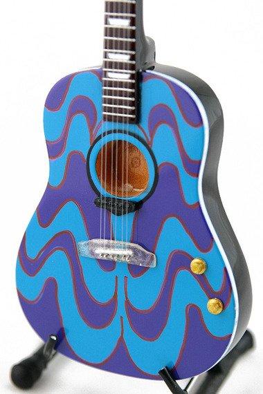 "miniaturka gitary THE BEATLES - JOHN LENNON: J-160 ACOUSTIC ""The Psychedelic"""