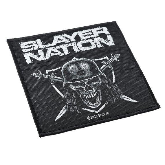 naszywka SLAYER - SLAYER NATION