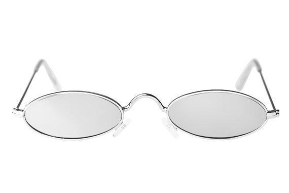 okulary LENONKI STEAMPUNK ŁEZKI SILVER