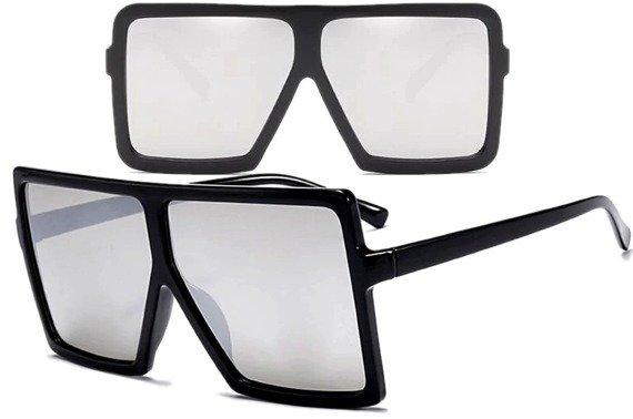 okulary RETRO VINTAGE LUSTRZANKI