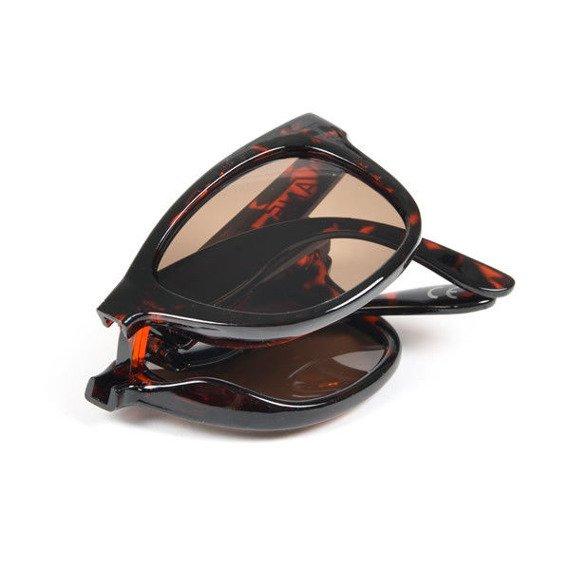 okulary VANS - FOLDABLE SPICOL TORTOISE GLOSS