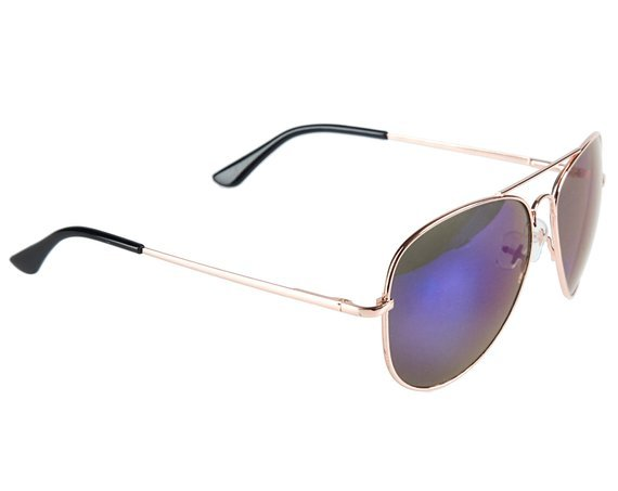 okulary przeciwsłoneczne AVIATOR BLUE