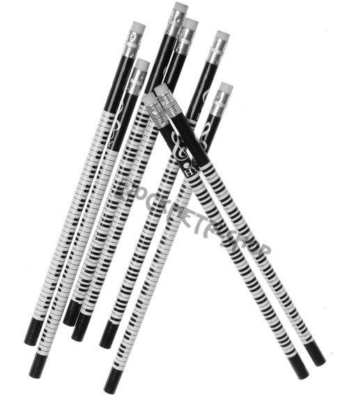ołówek PIANO z gumką