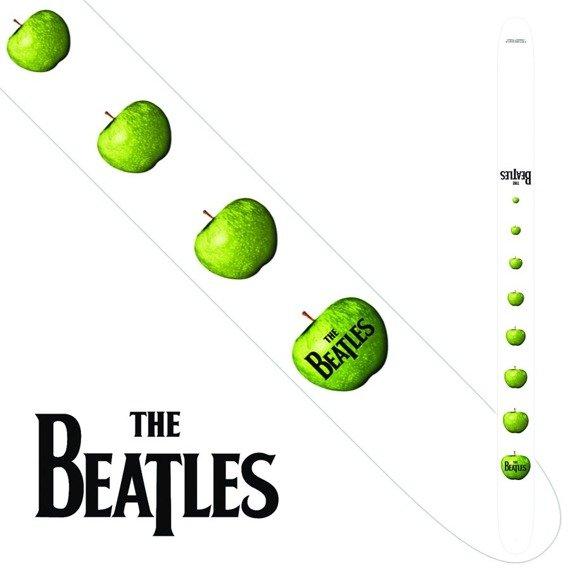 pas do gitary THE BEATLES -  APPLE vegan leather, 63 mm