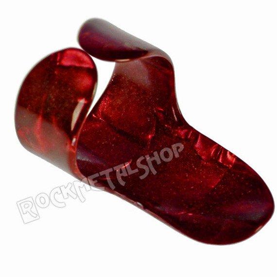 pazurek na palec średni BOSTON TORTOISE / RED
