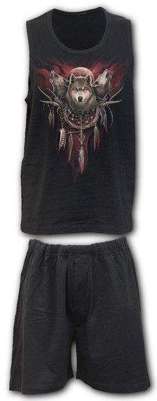 piżama FOREST WOLF zestaw 4-częściowy