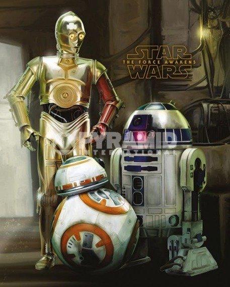 plakat STAR WARS - EPISODE VII (DROIDS)